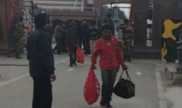 Pakistan releases 147 Indian fishermen; cross over via Wagah border