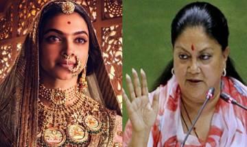'Padmavat' will not be released in Rajasthan despite changes, says CM Vasundhra Raje