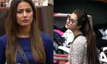 Bigg Boss 11: Ahead of finale, Shilpa Shinde-Hina Khan engage in war of words (watch video)