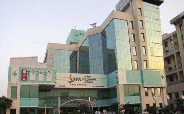 Birth and death time entries were made in registers: Max Hospital (pic source: PTI)