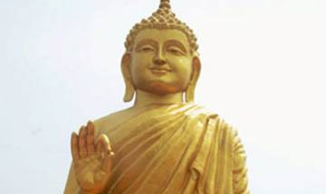 Buddha statue stolen, Dalits stage protest