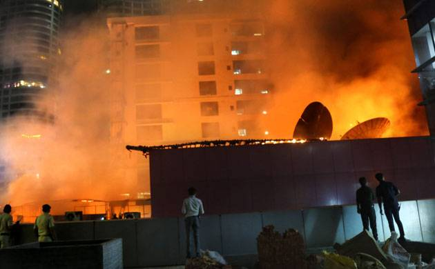 Kamala Mills fire: Seven-day police custody for '1 Above' pub owners (pic credit: PTI)