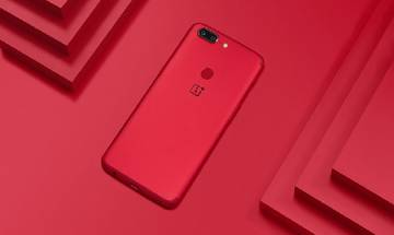 OnePlus 5T Lava Red edition launched in India, to go on sale on Amazon India from January 20