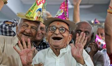 Forget poignant tales at old-age institutes; Jaipur's Prem Niketan Ashram is home to 35 cheerful grey-haired
