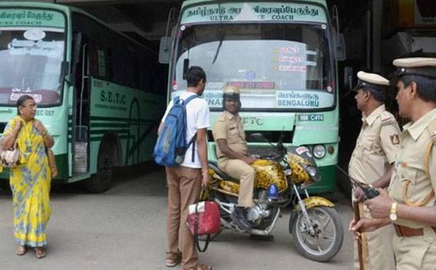 Tamil Nadu bus strike - File Photo