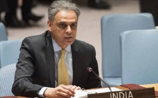 India's permanent representative to the UN Syed Akbaruddin (Source: Twitter)