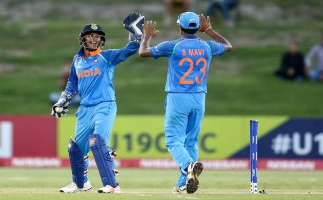 ICCU-19 Cricket World Cup, Ind vs Aus, live score:India cross 300 (Twitter Photo)