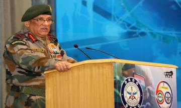 "Political initiative must go ""hand-in-hand"" with military operations in J&K, Army Chief Bipin Rawat"