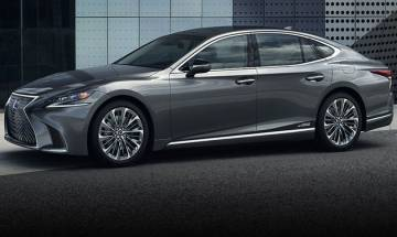 Lexus to launch new LS 500h in India tomorrow