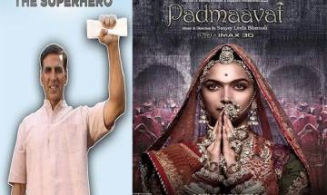 Akshay Kumar not WORRIED about PadMan-Padmaavat clash