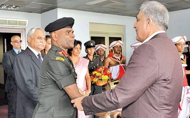 Bajwa landed in capital Colombo on Monday at the invitation of his Sri Lankan counterpart, Lieutenant General Mahesh Senanayake. (dailynews.lk)