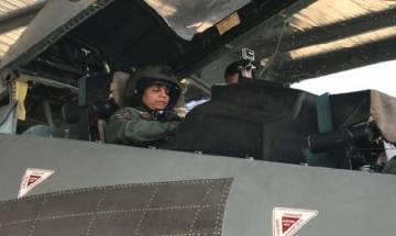 Watch| Defence Minister Sitharaman flies in Sukhoi 30 jet in 30-minutes sortie