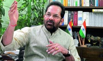 States to discuss steps to empower minorities today: Mukhtar Abbas Naqvi
