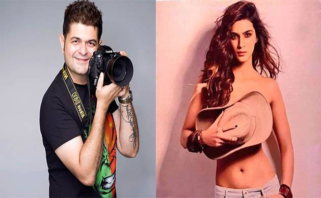 Kriti Sanon goes TOPLESS for Dabboo Ratnani's annual celebrity calendar(Image Courtesy: Twitter - Dabboo Ratnani, Instagram - Kriti Sanon)