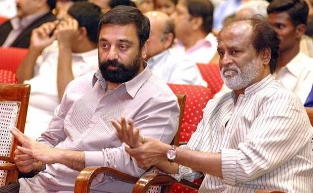 Rajinikanth, Kamal Haasan likely to forge alliance in politics? (File Photo)