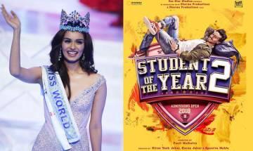 Is Manushi Chillar female lead of Student of The Year 2? Karan Johar reveals truth