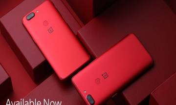 OnePlus 5T Lava Red goes on sale in India today. Know specs, price and more