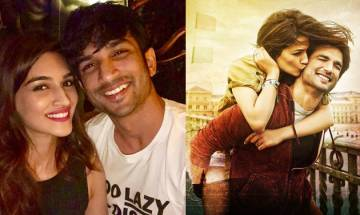 Sushant Singh Rajput gets a SPECIAL birthday wish with 'hugs and kisses' from Kriti Sanon (see pic)