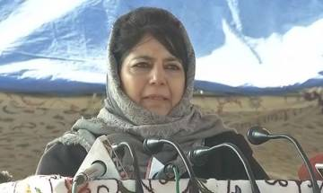 Jammu and Kashmir: Holi of BLOOD is going on at our borders, says Mehbooba Mufti