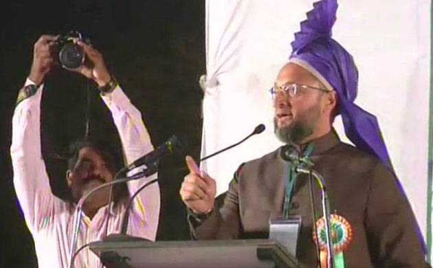 Owaisi was addressing a public meeting at Aurangabad, Maharashtra over the Triple Talaq issue.