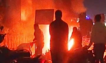 Padmaavat row: Fringe group vandalise PVR Acropolis Mall of Ahmedabad, torch vehicles; Karni Sena denies involvement
