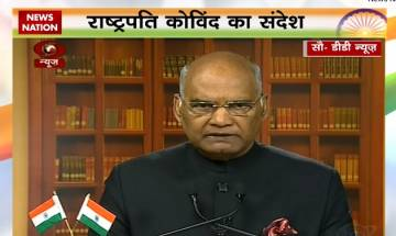 Watch Video | President Kovind address to nation on Republic Day Eve: We need to build a nation where girls have equal opportunity