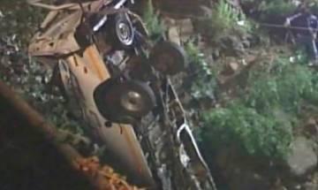 12 dead, 3 injured after mini bus falls into river in Maharashtra's Kolhapur