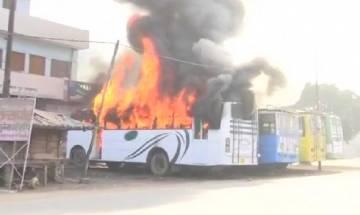 Kasganj violence: Groups vandalise shops, buses set on fire; Police arrest 49 people