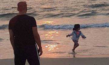 This Akshay Kumar and Nitara beach moment in Goa is just too CUTE to be true (see pic)