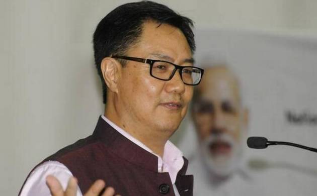 Union minister Kiren Rijiju (Source: PTI)