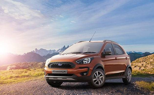 Ford Freestyle compact-utility-vehicle unveiled in Indian market (Source: india.ford.com)