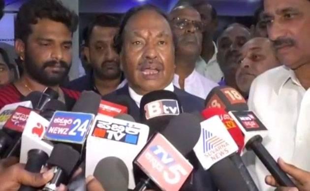 Senior Bharatiya Janata Party (BJP) leader and former Deputy Chief Minister in the Jagadish Shettar led BJP government in Karnataka KS Eshwarappa.