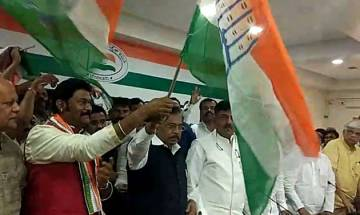 Former Karnataka BJP Minister joins Congress citing internal bickering and discrimination
