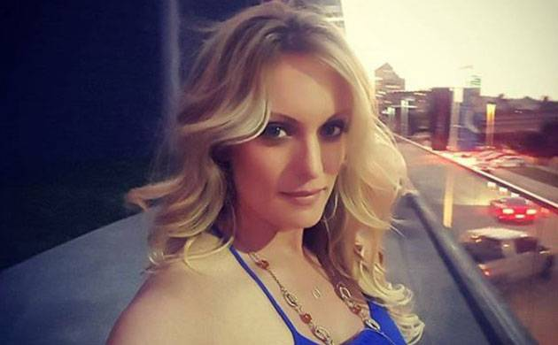 In recent weeks she has changed production companies, given a television interview and promoted strip club appearances with a risque play on Trump's Make America Great Again campaign slogan. (@thestormydaniels)