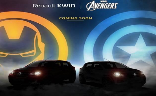 Renault Kwid Marvel Avenger Edition to launch in India soon(Source - Renault Kwid Twitter)