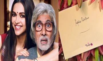 Deepika Padukone overwhelmed to get reward from reel-life 'Baba' Amitabh Bachchan