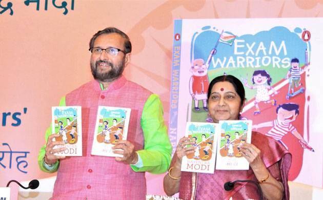 Exam Warriors: PM Narendra Modi's new book asks students to celebrate exams like festival (Source-Prakash Javadekar's Twitter)