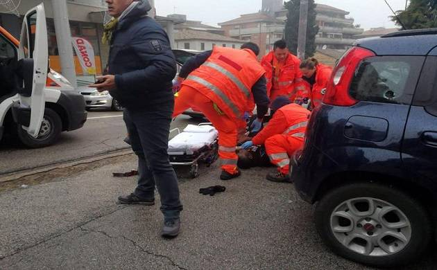 Terrorist opens fire on foreigners in Italian town of Macerata 6 wounded (Source: News Agency ANSA)