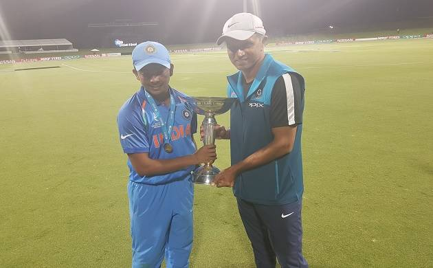 'Proud of boys,' says Rahul Dravid, the man behind India's U-19 WC win (ICC Twitter)