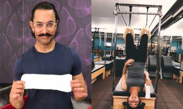 Aamir Khan, Alia Bhatt take the PadMan challenge, pose with sanitary pad