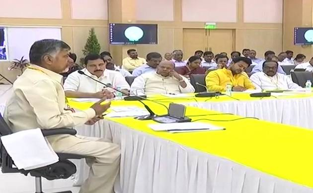 Not happy with Budget, Andhra CM Chandrababu Naidu to take call on TDP's alliance with BJP (ANI photo)