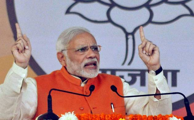 Modi calls Congress '10 per cent sarkar' in his Bengaluru rally (Source: PTI)