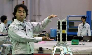 Japanese aerospace agency launches world's smallest rocket carrying micro-satellite
