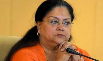 After bypoll drubbing, Rajasthan BJP leader writes to Amit Shah, demands CM Raje's resignation