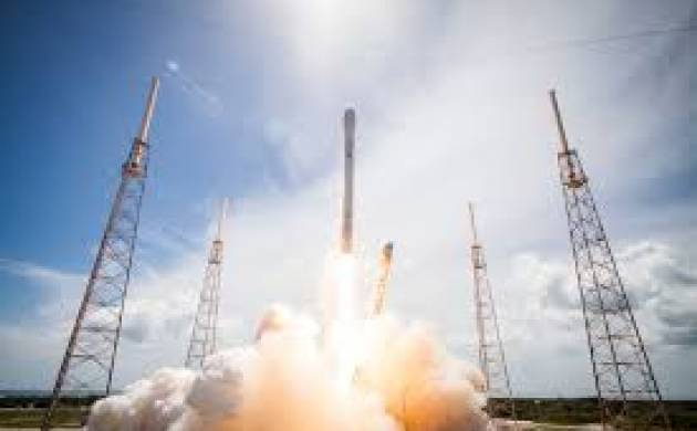 SpaceX Heavy Rocket launch