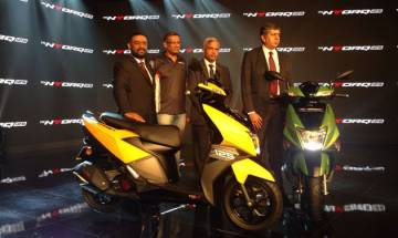 TVS Motors launch NTorq 125 scooter in the Indian market priced at Rs 58,750