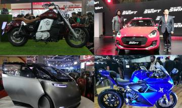 Auto Expo 2018, Day 2 HIGHLIGHTS: Suzuki Swift captures the eyes, Yamaha, UM Motorcycles launch new bikes!