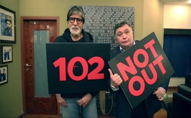 102 Not Out teaser out: Amitabh Bachchan-Rishi Kapoor's new age father-son story is damn CUTE (Source- Rishi Kapoor's Twitter)