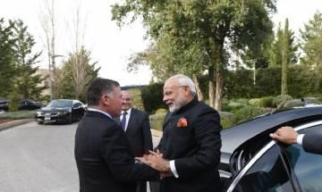 PM Modi, Jordan King Abdullah II agree to boost bilateral ties