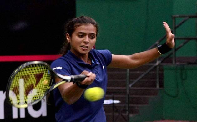 Ankita Raina , Karman Kaur Thandi seal India's win over Hong Kong in Fed Cup (Source: PTI)